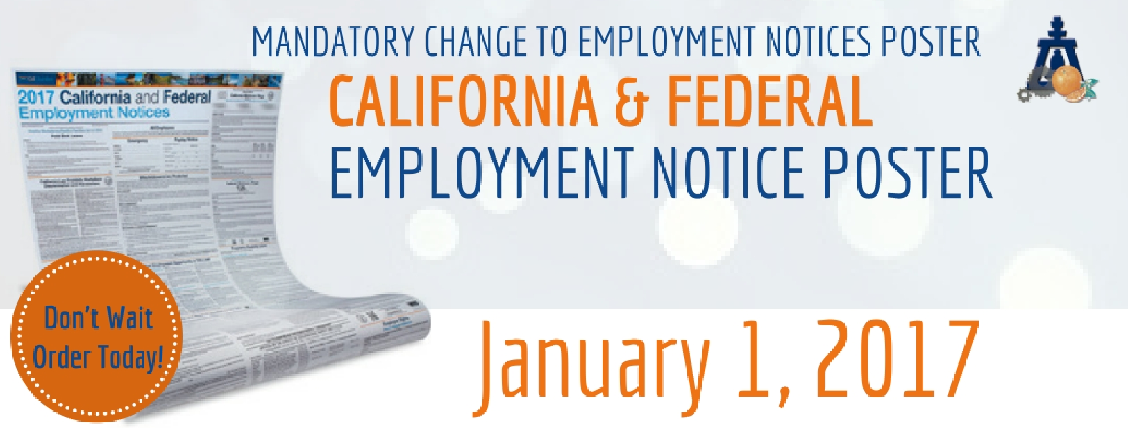 CA Employment Posters